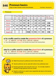 846 Pronoun Basics